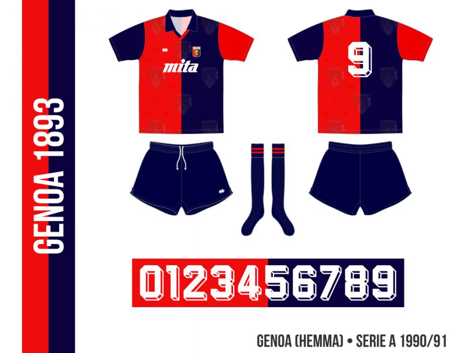 Genoa 1990/91 (hemma)