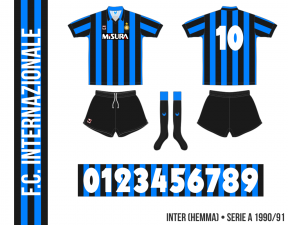 FC Internazionale 1990/91 (hemma)