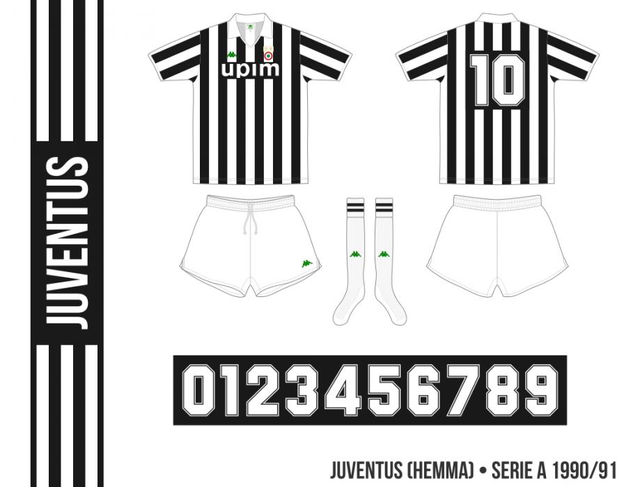 Juventus 1990/91 (hemma)
