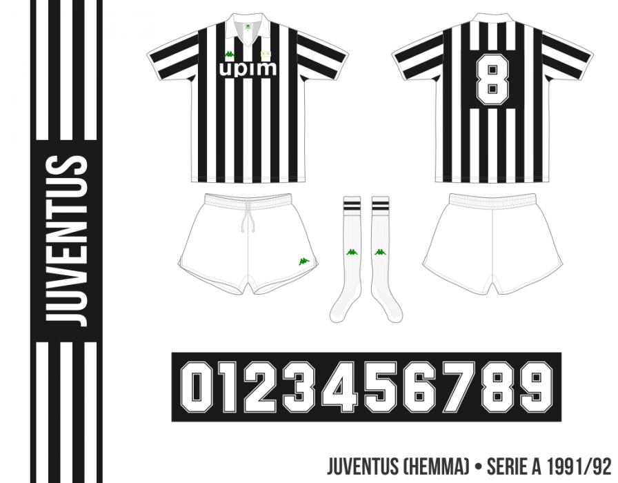 Juventus 1991/92 (hemma)