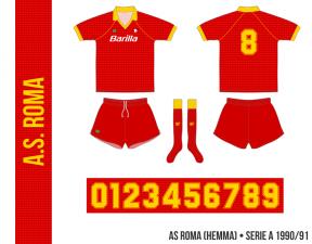 AS Roma 1990/91 (hemma)