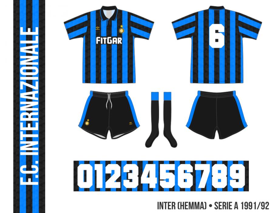 Inter 1991/92 (hemma)