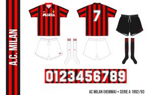 AC Milan 1992/93 (hemma)