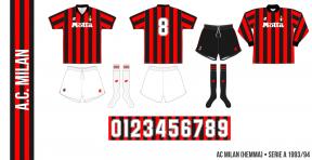AC Milan 1993/94 (hemma)