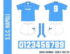 Napoli 1991/92 (hemma)