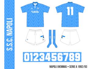 Napoli 1992/93 (hemma)