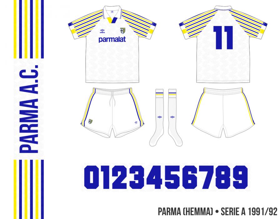 Parma 1991/92 (hemma)