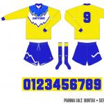 Parma 1991/92 (alternativ borta)