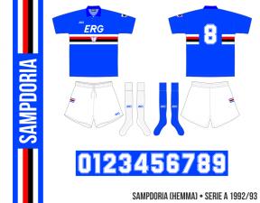 Sampdoria 1992/93 (hemma)