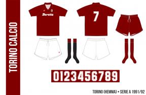 Torino 1991/92 (hemma)