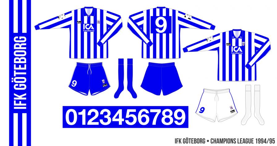 IFL Göteborg 1994/95 (Champions League)