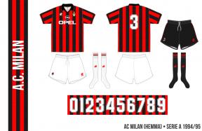 AC Milan 1994/95 (hemma)