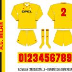 AC Milan (tredjeställ, Europeiska Supercupen 1995)