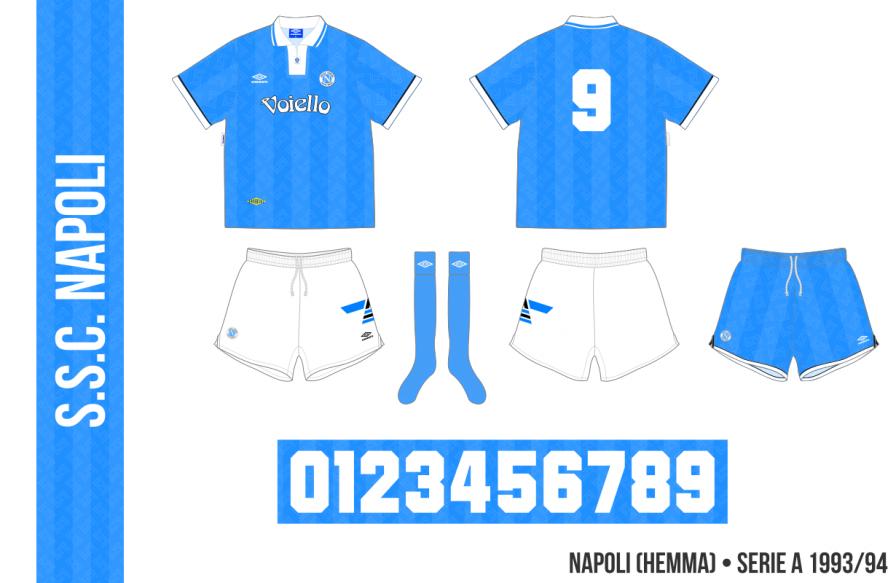 Napoli 1993/94 (hemma)
