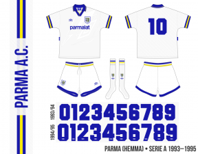 Parma 1993–1995 (hemma)