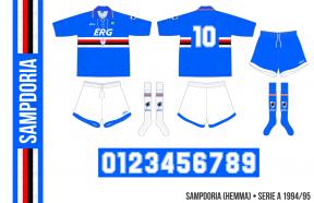 Sampdoria 1994/95 (hemma)