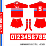Sampdoria 1994/95 (tredjeställ)