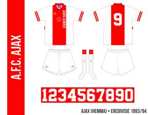 Ajax 1993/94 (hemma)