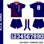 Ajax 1994/95 (Champions League, borta)