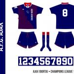 Ajax 1994/95 (Champions League, borta)