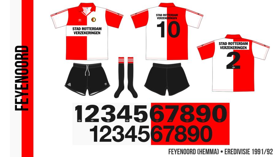Feyenoord 1991/92 (hemma)