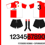 Feyenoord 1991/92 (Cupvinnarcupen, hemma)