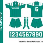 Feyenoord 1992–1994 (borta)
