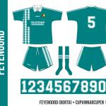 Feyenoord 1994/95 (Cupvinnarcupen, borta)