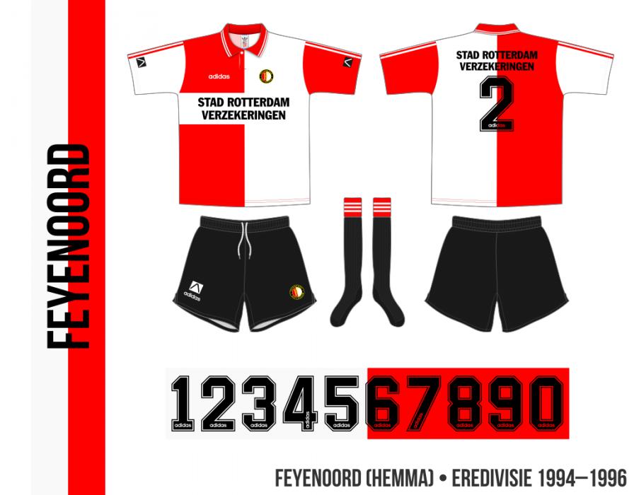 Feyenoord 1994–1996 (hemma)