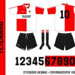 Feyenoord 1994–1996 (Cupvinnarcupen, hemma)