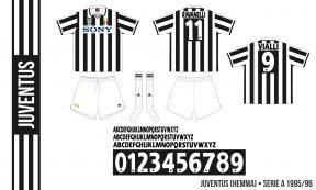 Juventus 1995/96 (hemma)
