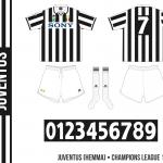 Juventus 1995/96 (Champions League, hemma)