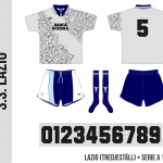 Lazio 1994/95 (tredjeställ)