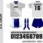 Lazio 1995/96 (tredjeställ)