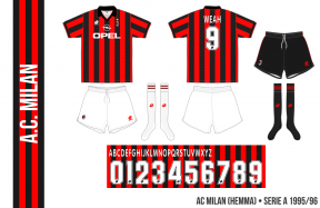 AC Milan 1995/96 (hemma)