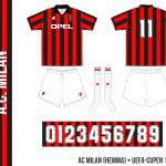 AC Milan 1995/96 (UEFA-cupen, hemma)