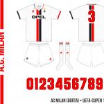 AC Milan 1995/96 (UEFA-cupen, borta)