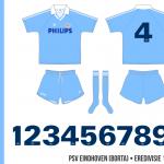 PSV Eindhoven 1990–1992 (borta)