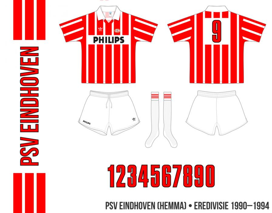 PSV Eindhoven 1990–1994 (hemma)