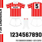 PSV Eindhoven 1993/94 (UEFA-cupen, hemma)