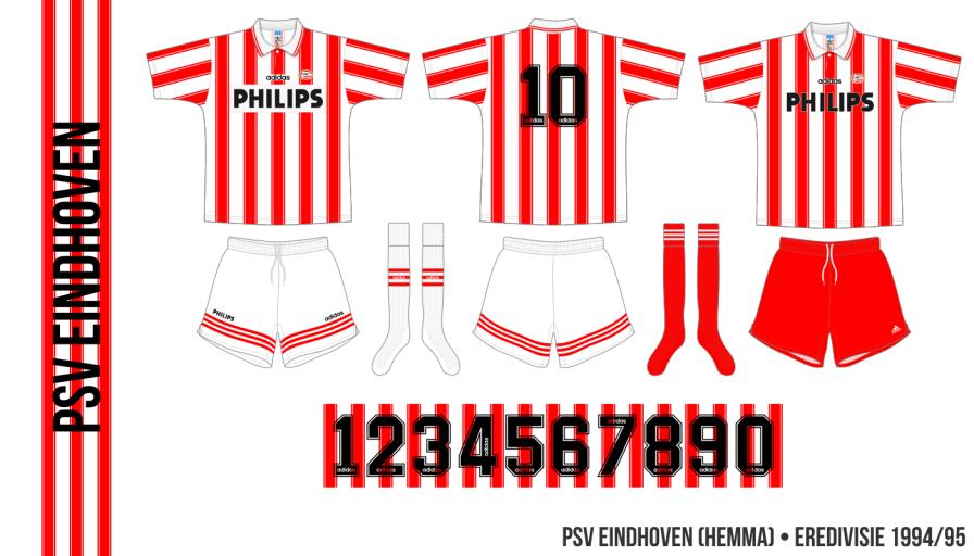 PSV Eindhoven 1994/95 (hemma)
