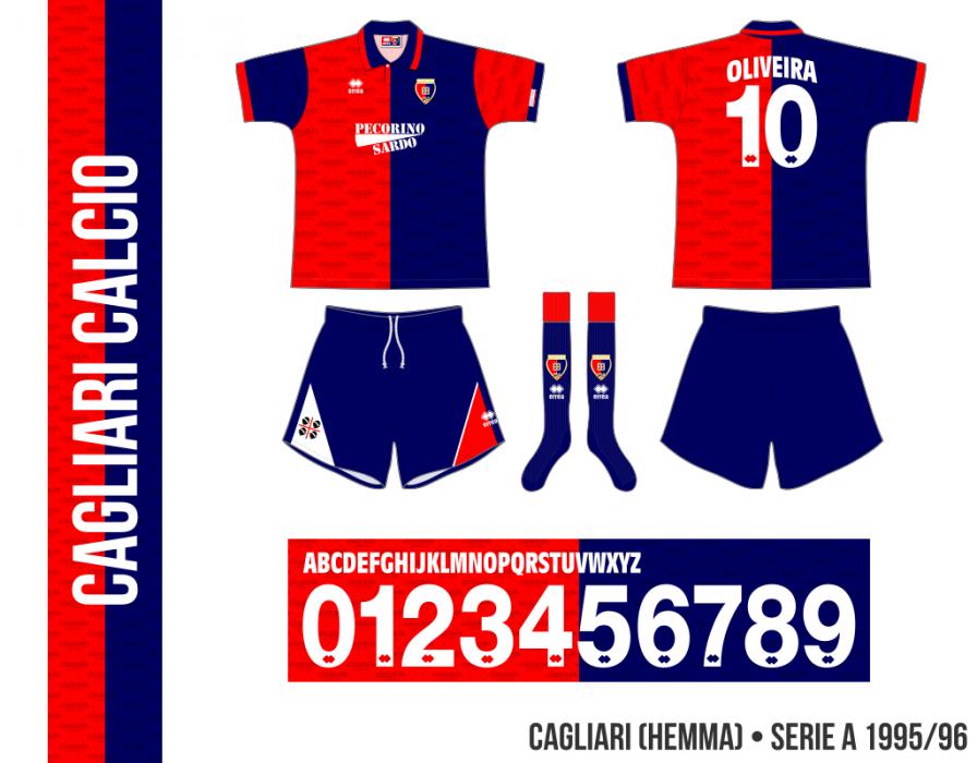 Cagliari 1995/96 (hemma)