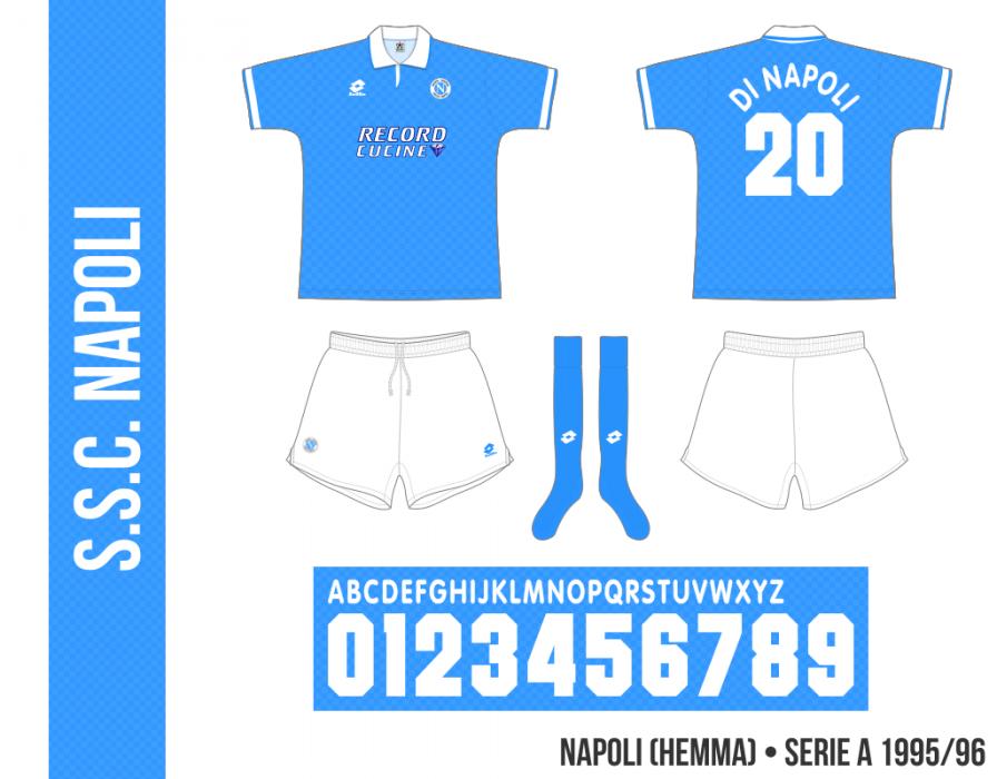 Napoli 1995/96 (hemma)