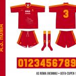 AS Roma 1995/96 (UEFA-cupen, hemma)