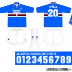 Sampdoria 1995/96 (hemma)