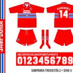 Sampdoria 1995/96 (tredjeställ)