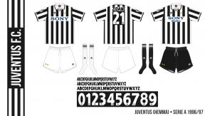 Juventus 1996/97 (hemma)