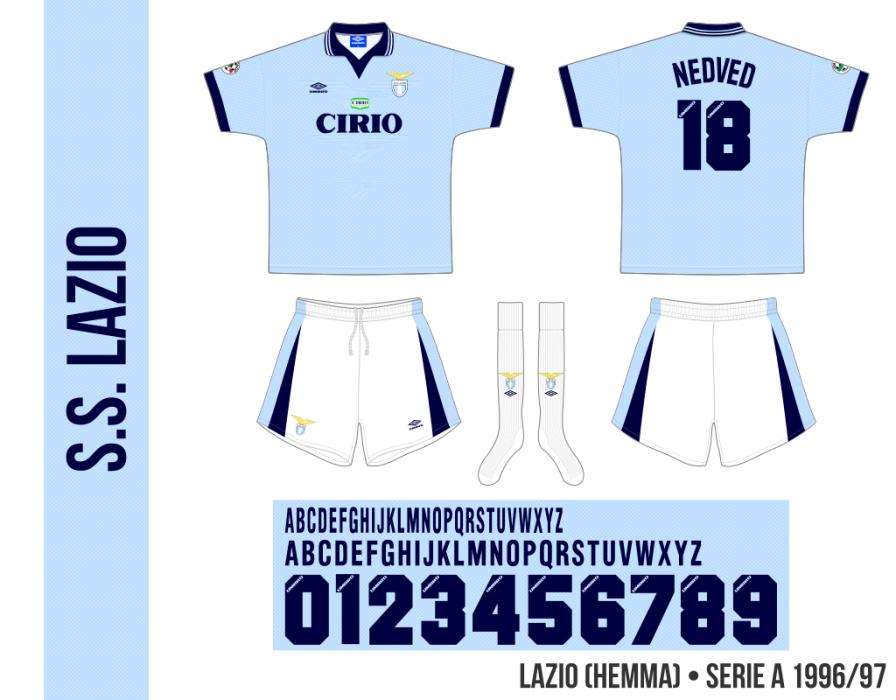 Lazio 1996/97 (hemma)