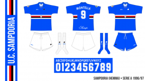 Sampdoria 1996/97 (hemma)