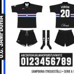 Sampdoria 1996/97 (tredjeställ)